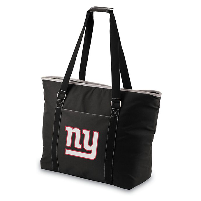 Alternate image 1 for Picnic Time® New York Giants Tahoe Insulated Cooler Tote in Black