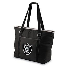 Picnic Time® Tahoe Oakland Raiders Insulated Cooler Tote in Black