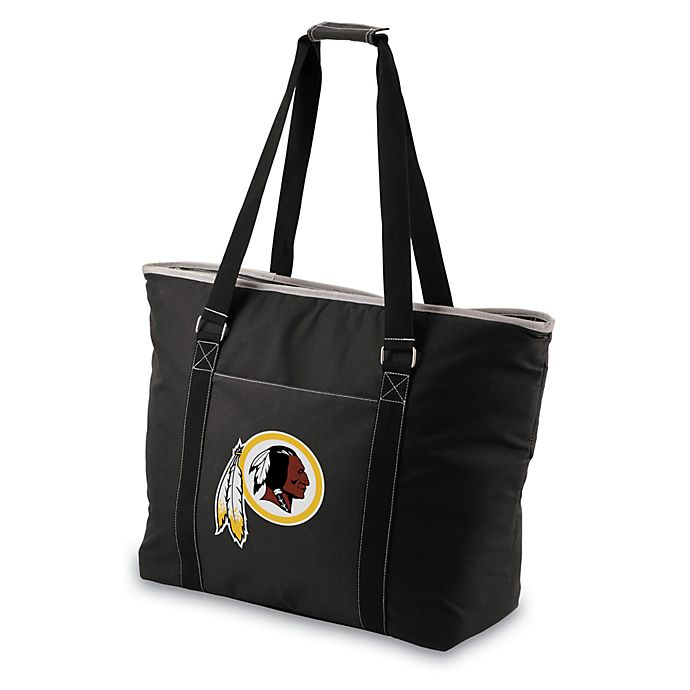 Alternate image 1 for Picnic Time® Tahoe Washington Redskins Insulated Cooler Tote in Black