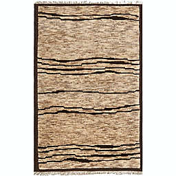 Safavieh Tangier 4' x 6' Weiss Rug in Brown