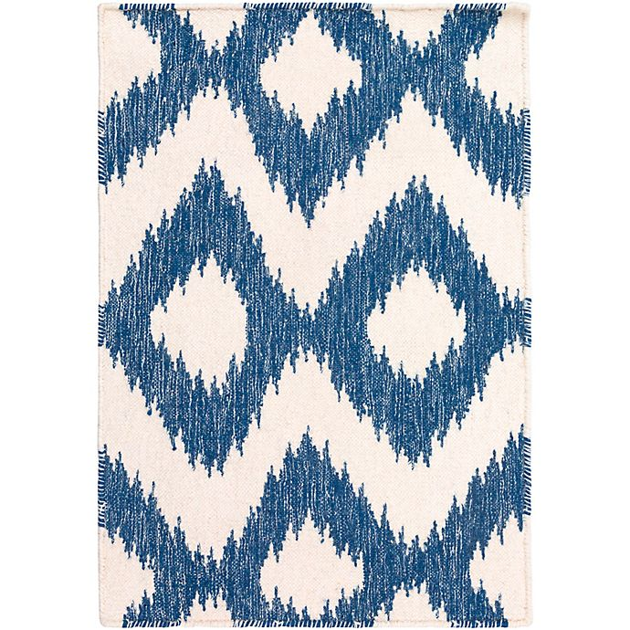 Alternate image 1 for Surya Frontier Global 2' x 3' Accent Rug in Navy/Cream