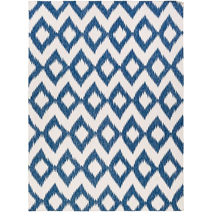 Alternate image 1 for Surya Frontier Global 8' x 11' Area Rug in Navy/Cream
