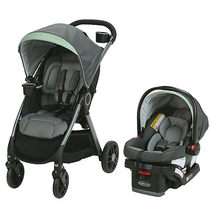 Alternate image 1 for Graco® FastAction™ Fold DLX Travel System in Landry™