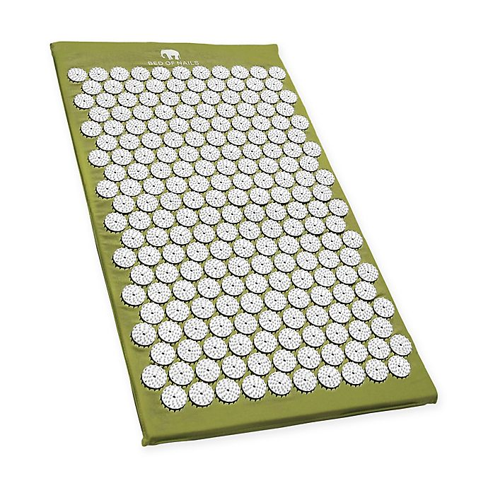 Alternate image 1 for Bed of Nails Acupressure Mat in Green