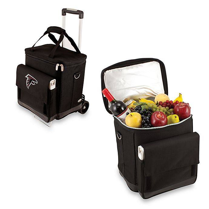 Alternate image 1 for Picnic Time® Cellar with Trolley Insulated Cooler in Atlanta Falcons