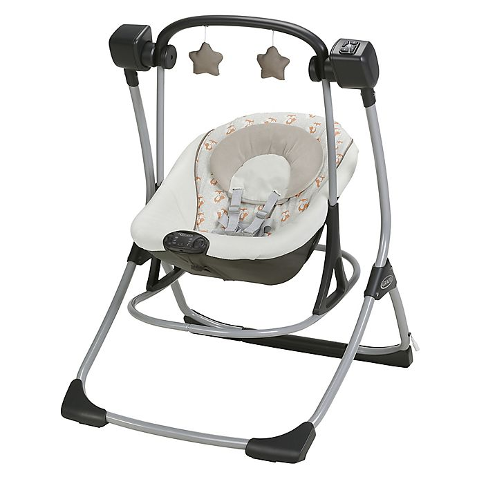 Alternate image 1 for Graco® Cozy Duet™ Swing and Rocker in Leo™
