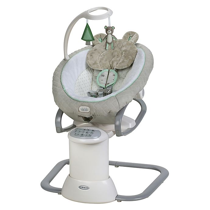 Alternate image 1 for Graco® EveryWay Soother™ Baby Swing with Removable Rocker in Tristan