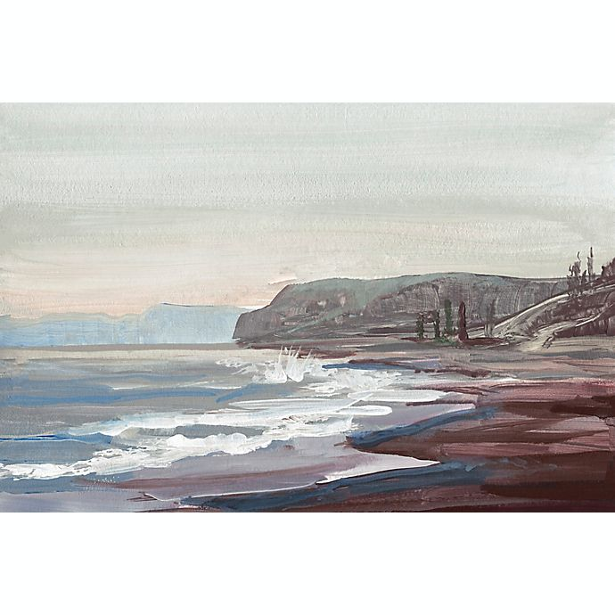 Alternate image 1 for Marmont Hill Along the Shore 24-Inch x 16-Inch Canvas Wall Art