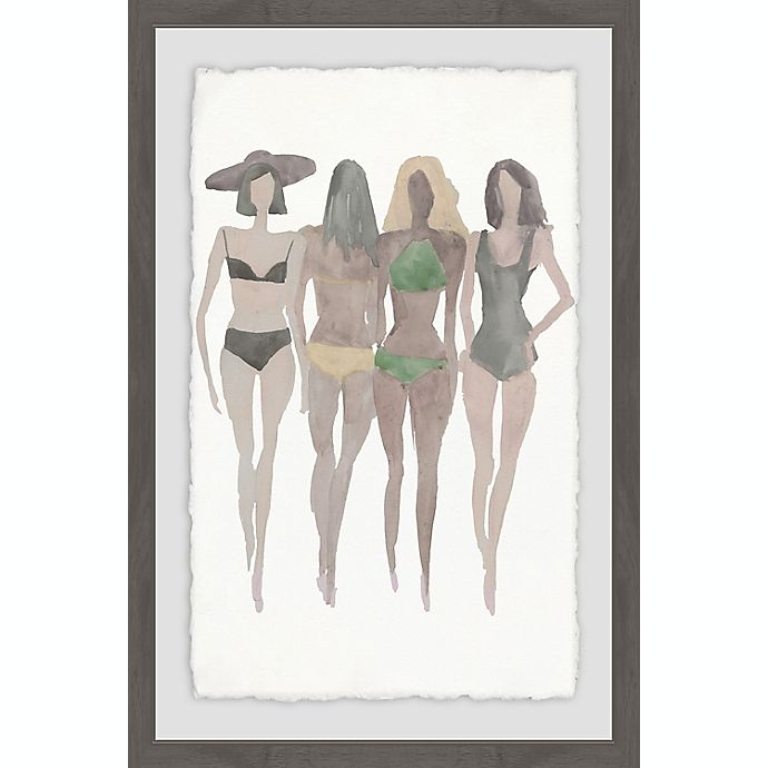 Alternate image 1 for Marmont Hill Beach II 20-Inch x 30-Inch Framed Wall Art