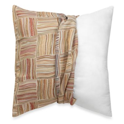 Make Your Own Pillow Flourish Square Throw Pillow Cover In