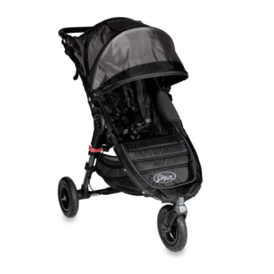 Baby Jogger City Mini Gt Single Stroller In Shadow Black