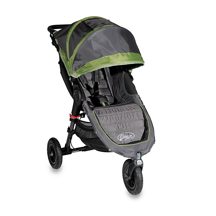 Baby Jogger City Mini Gt Single Stroller In Shadow Green Bed Bath