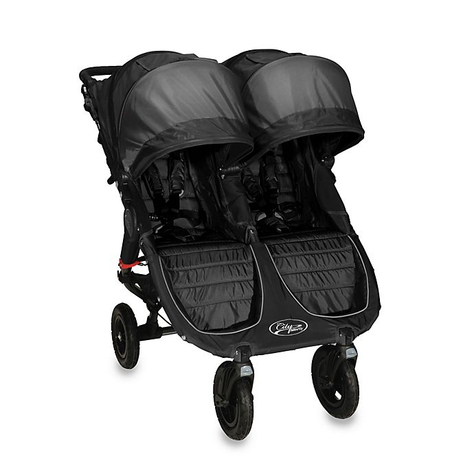 Baby Jogger City Mini Gt Double Stroller And Accessories
