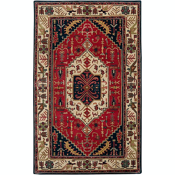 Alternate image 1 for Surya Ancient Treasures Traditional 5' x 8' Area Rug in Red/Blue