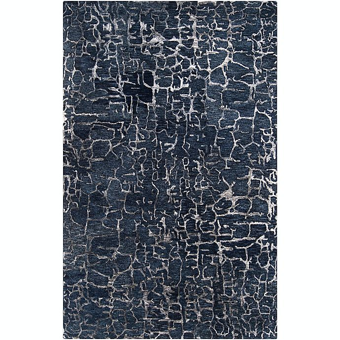 Alternate image 1 for Surya Banshee Modern Hand-Tufted 5' x 8' Area Rug in Navy