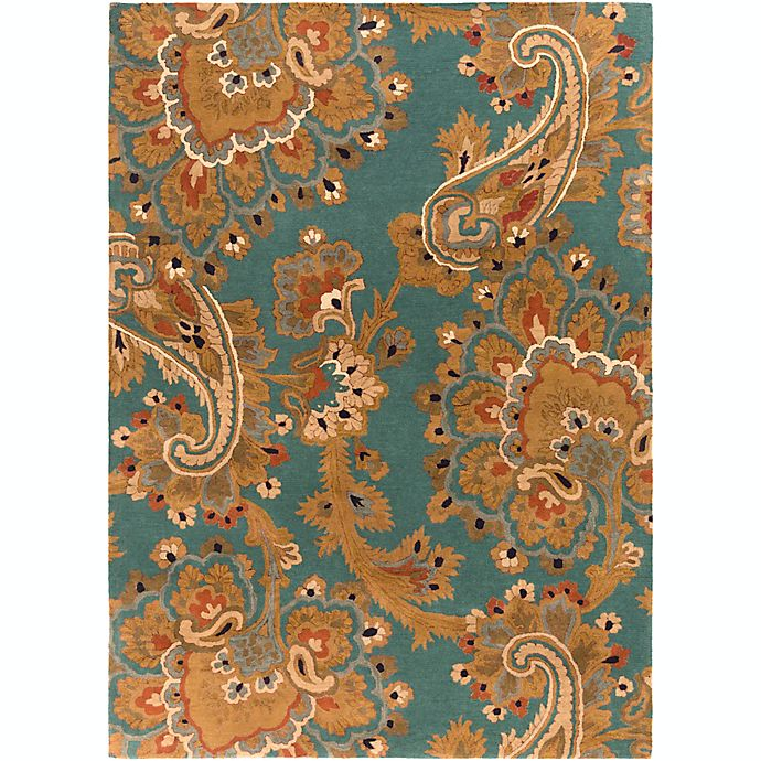 Alternate image 1 for Surya Sea Floral 8' x 11' Hand Tufted Area Rug in Blue/Brown