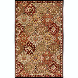 Surya Caesar Classic Palmette Rug in Brown/Red