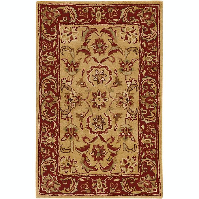 Alternate image 1 for Surya Ancient Treasures Classic 2' x' 3 Accent Rug in Red/Gold