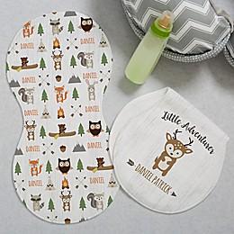 Woodland Adventure Deer Burp Cloths (Set of 2)