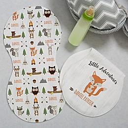 Woodland Adventure Fox Burp Cloths (Set of 2)