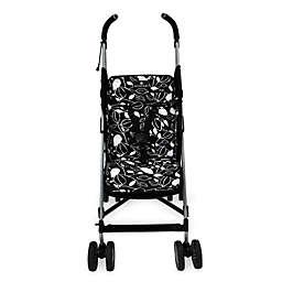 Balboa Baby® Stroller Liner in Black & White Leaf