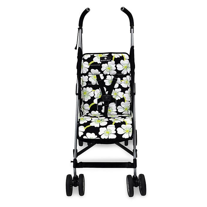 Alternate image 1 for Balboa Baby® Stroller Liner in Lime Poppy
