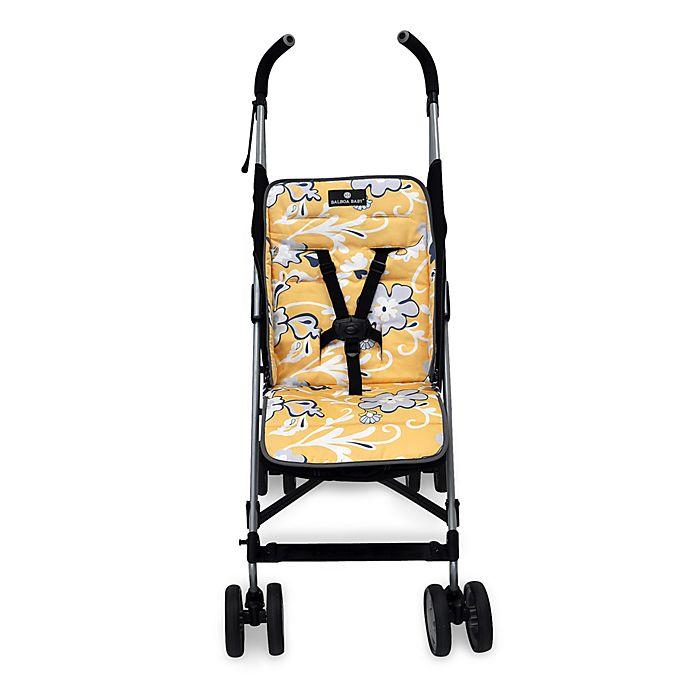 Alternate image 1 for Balboa Baby® Stroller Liner in Yellow Flower
