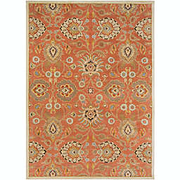 Surya Ceasar Classic 8' x 11' Area Rug in Orange/Khaki