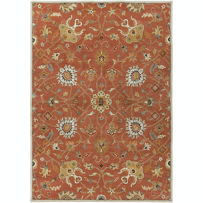 Alternate image 1 for Surya Caesar Vintage Ivy 8' x 11' Area Rug in Rust/Camel