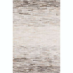 Surya Outback Geometric 2' x 3' Accent Rug in Ivory/Taupe