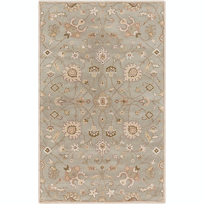 Alternate image 1 for Surya Caesar Vintage Ivy 12' x 15' Area Rug in Grey/Wheat