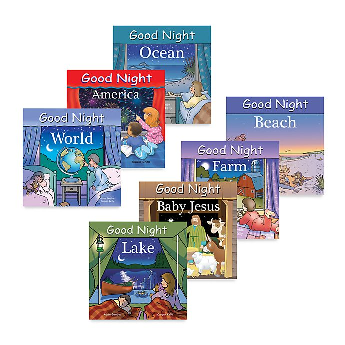 Alternate image 1 for Good Night Board Books - Attractions