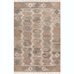 Surya Jewel Tone 2' x 3' Accent Rug in Beige/Camel