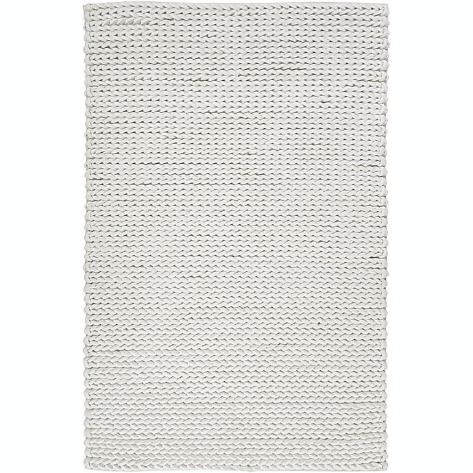 Alternate image 1 for Surya Anchorage Solids and Tonals 9' x 12' Area Rug in Cream