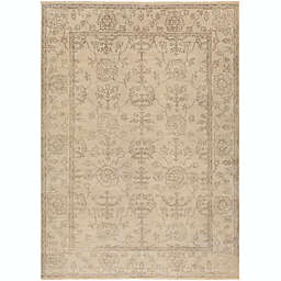 Surya Ainsley Hand-Knotted Rug in Khaki