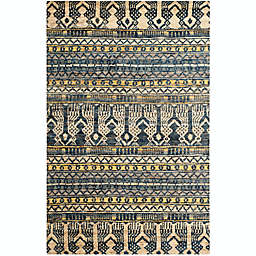 Safavieh Pippen 4' x 6' Hand-Knotted Area Rug in Blue