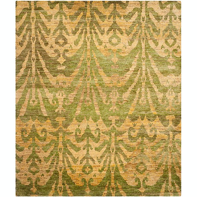Alternate image 1 for Safavieh Owen 8' x 10' Hand-Knotted Area Rug in Green