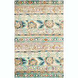 Safavieh Bohemian 4' x 6' Wilks Area Rug in Bleach