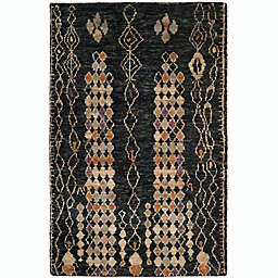 Safavieh Osha Hand-Knotted Area Rug in Black