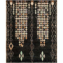 Safavieh Osha 8' x 10' Hand-Knotted Area Rug in Black