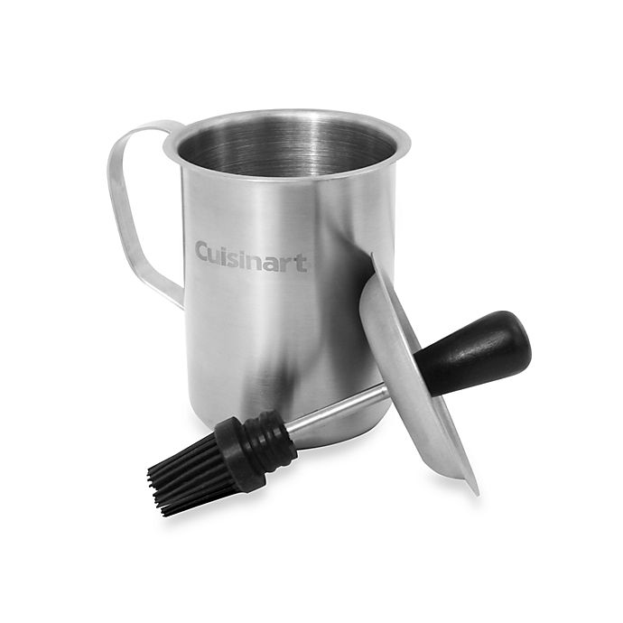 Alternate image 1 for Cuisinart® Sauce Pot & Basting Brush Set