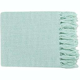 Surya Tilda Throw Blanket in Mint