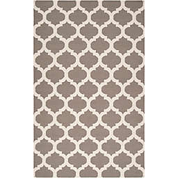 Surya Frontier Geometric 9' x 13' Area Rug in Medium Grey