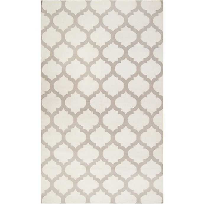 Alternate image 1 for Surya Frontier Geometric 9' x 13' Area Rug in White