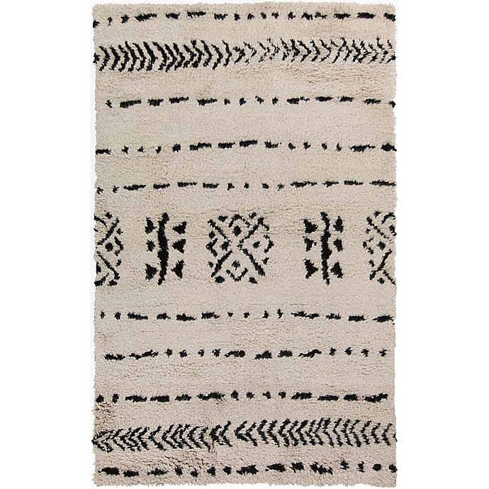 Alternate image 1 for Surya Denali 8' x 10' Hand-Knotted Area Rug in Khaki/Black