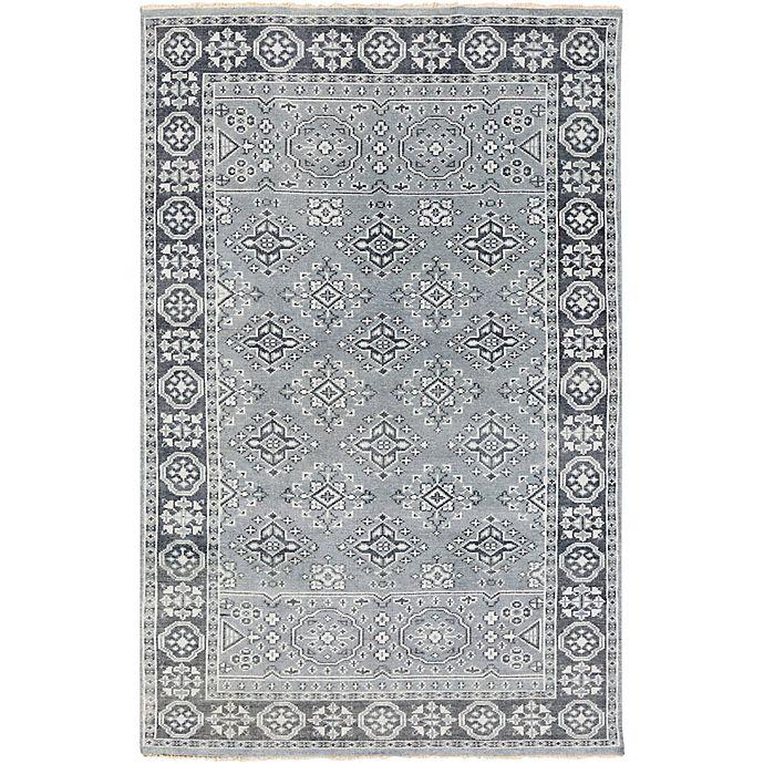 Alternate image 1 for Surya Cappadocia Vintage-Inspired 3'6 x 5'6 Area Rug in Teal/Black