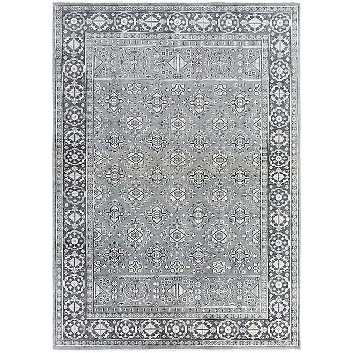 Alternate image 1 for Surya Cappadocia Vintage-Inspired 8' x 11' Area Rug in Teal/Black