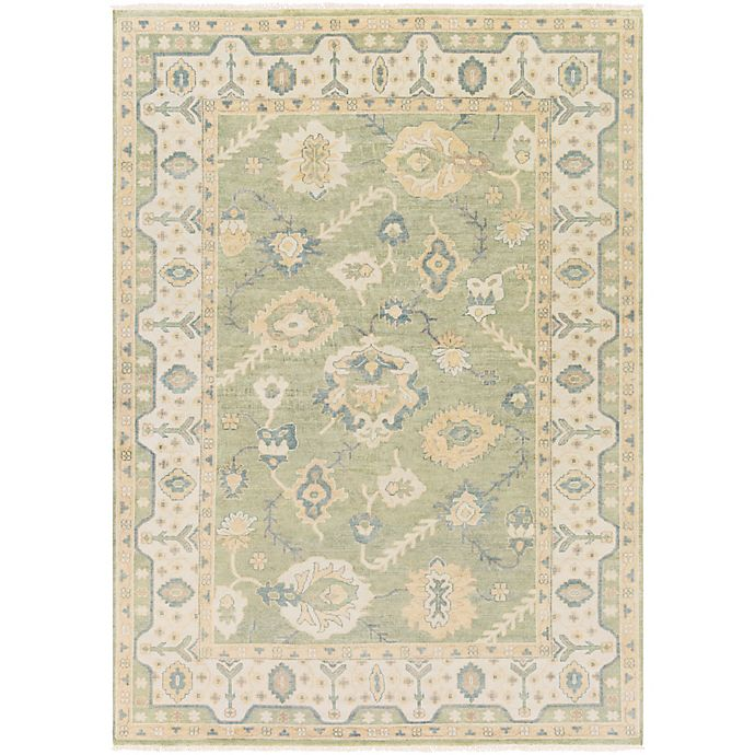 Alternate image 1 for Surya Hillcrest 8' x 11' Area Rug in Dark Green