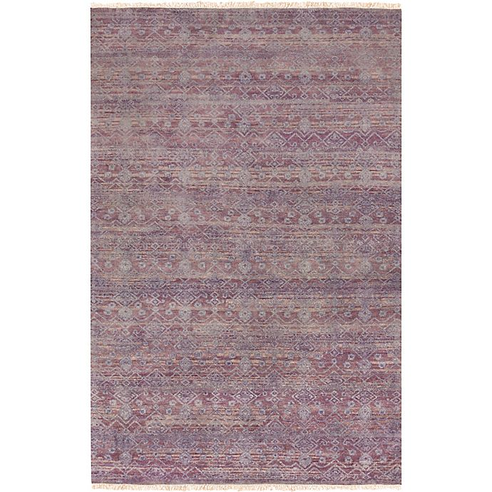 Alternate image 1 for Surya Cheshire Classic Hand-Knotted Rug in Bright Purple
