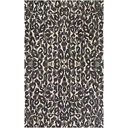 Surya Geology Casual 9' x 13' Area Rug in Black